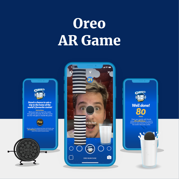OREO AR Game