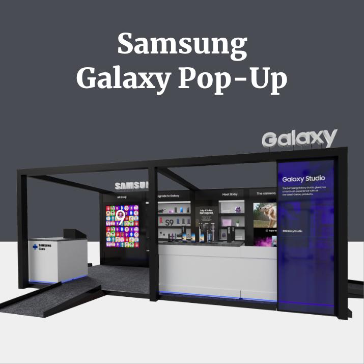 Samsung Galaxy Pop-Up