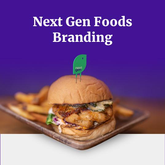 Next Gen Foods Branding